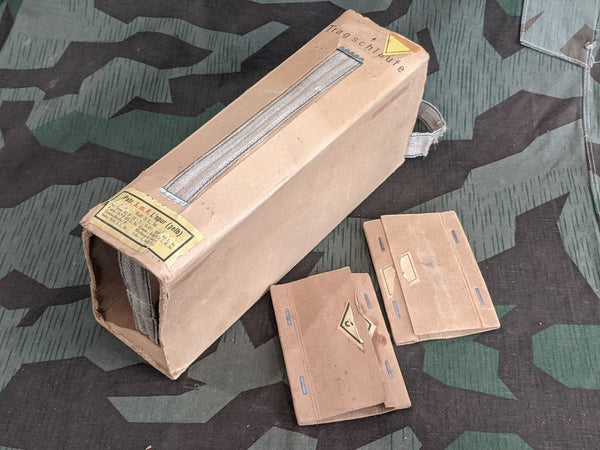 WWII German Yellow Tracer Ammo Cardboard Sleeve