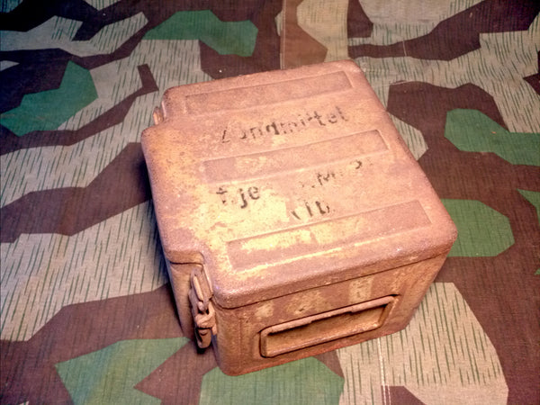 WWII German Zundmittel f.je.S.Mi.35. Steel Box
