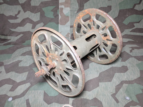 WWII German Original Cable Reel for the Backpack Layer