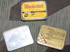 WWII-era German Rheimint Peppermint Tins