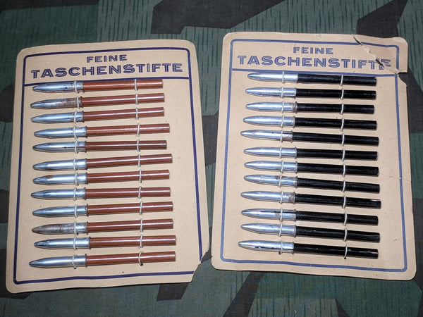Original 1940s WWII-era German Pocket Pencils Taschenstifte