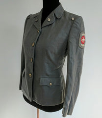 WWII Gray Winter US Women's Cadet Nurse Uniform Tunic PHS