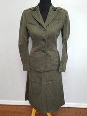 WWII Marine Corps Women's Uniform USMCWR  - Civilianized