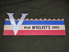 WWII Patriotic Paper V for Victory Hat from McKelvey's Shoes