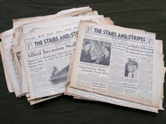 WWII Stars and Stripes Newspaper for the US Armed Forces