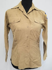 WWII Tan Women's WAC Uniform Undershirt (as-is)