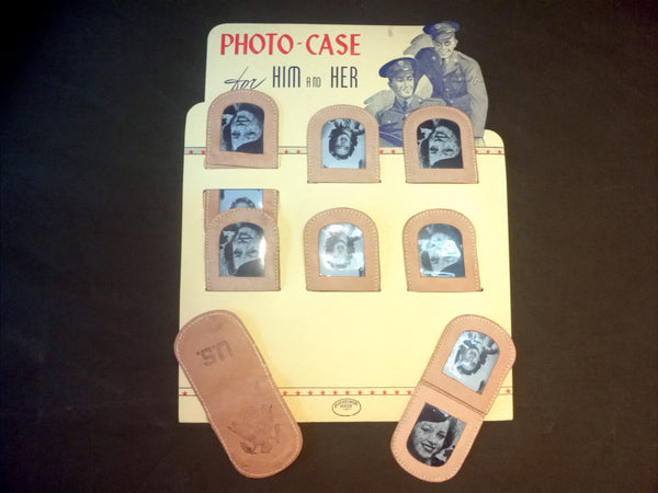 WWII U.S. Sweetheart Photo Case - New Old Stock Vintage