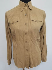 WWII USMCWR Women's Marine Corps Tan Uniform Undershirt