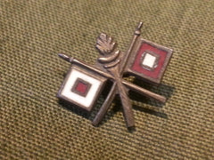 WWII US Army Signal Corps Sweetheart Pin Sterling