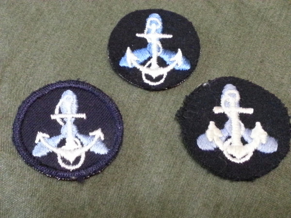 WWII US Navy WAVES Collar Patches Insignia