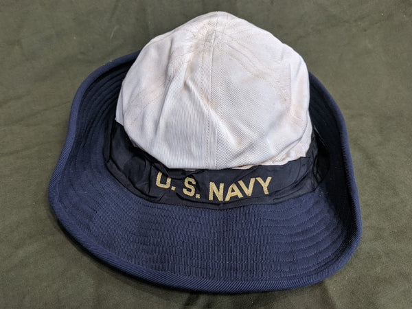WWII US Navy WAVES Woman's Service Hat (Size 23) Uniform
