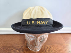 WWII US Navy WAVES Woman's Service Hat (Size 21 1/2) Uniform
