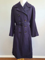 WWII US Navy WAVES Womens Uniform Overcoat