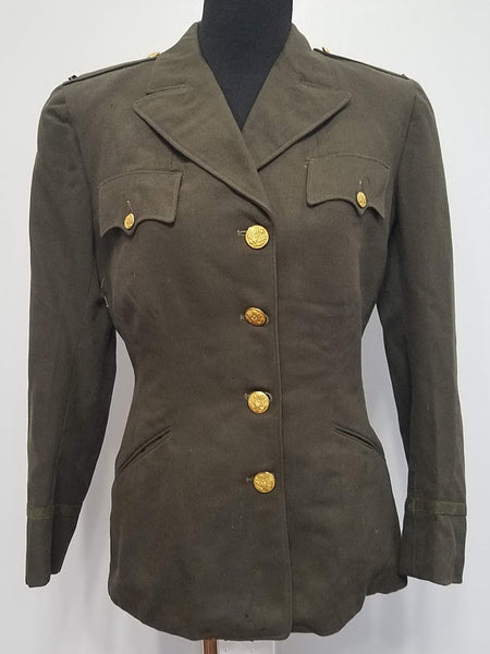 WWII US Women's ANC Army Nurse Officer's Uniform Jacket Size 16
