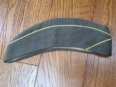 WWII WAC OD Enlisted Women's Garrison Cap Uniform Hat (Size 22)