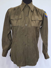WWII WAC Queen Women's Uniform OD Undershirt