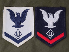 WWII WAVES Patches Specialist U - Housekeeper / Stewardess