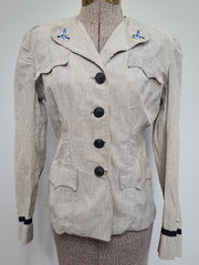 WWII WAVES Women's Seersucker Officer's Uniform Jacket