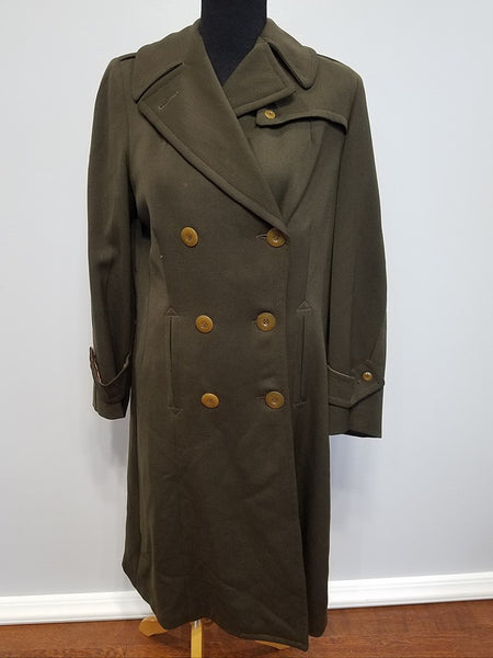 WWII Women's WAC / ANC Uniform Winter Coat