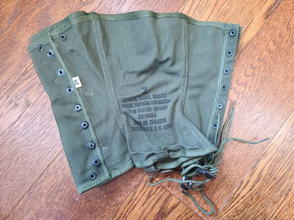 WWII Women's Army 2R Leggings WAC ANC Uniform