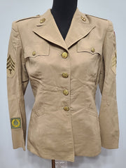 WWII Women's Khaki WAC Uniform Jacket 16R