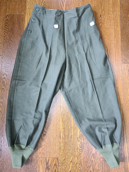 "Women's Wool Trouser Liner Size 38R Cutter Tags (30.5"" Waist)"