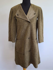 WWII Women's WAC 1944 Uniform Overcoat Liner 10S