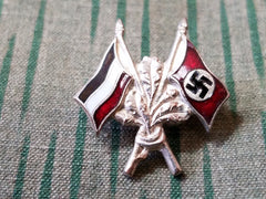 WWII and Imperial German Flag Pin