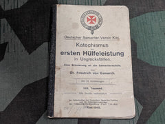 WWI German First Aid Book Kiel 1915