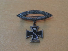 WWI German Iron Cross Gott Mit Uns Brooch