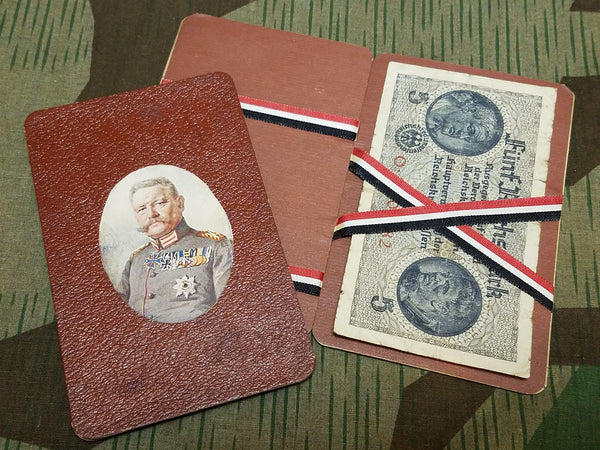 WWI era German Hindenburg Trick Wallet