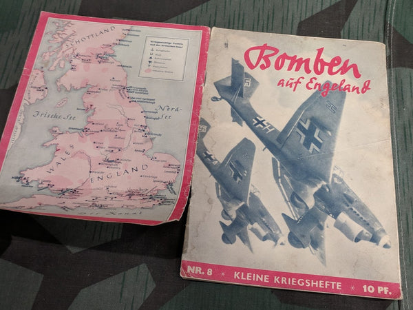 Bomben aüf Engeland War Novel