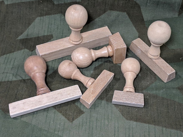 Wood Stamp Handles Random Size Base
