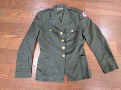 SALE: ANC OD Wool Officer's Tunic 16R (As-Is)