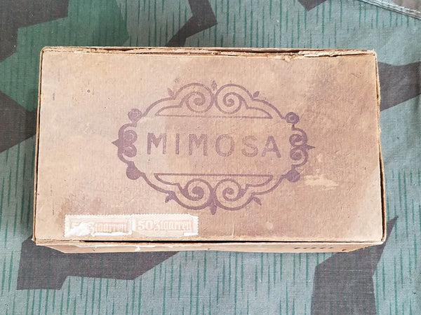 Mimosa Cigar Box with Cigars