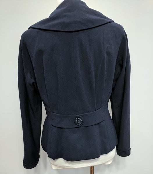 "Dark Blue Blazer <br> (B-42"" W-34"")"