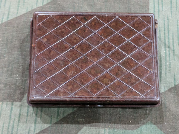 Bakelite Cigarette Case with Horse Design