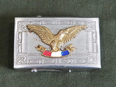 Vintage Patriotic Eagle Belt Buckle