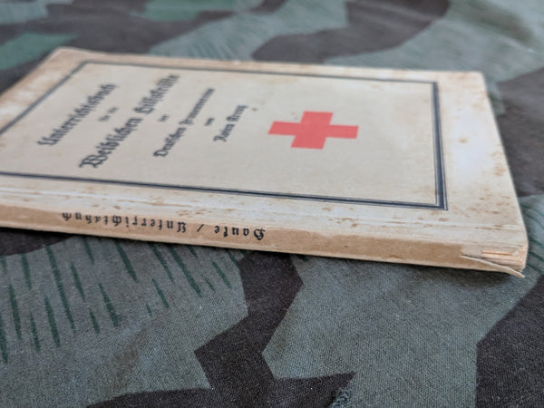 DRK Red Cross Course Book for Female Personnel 1936