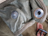 Horse Gas Mask Bag / Personal Item Bag