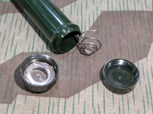 Green Bakelite Flashlight