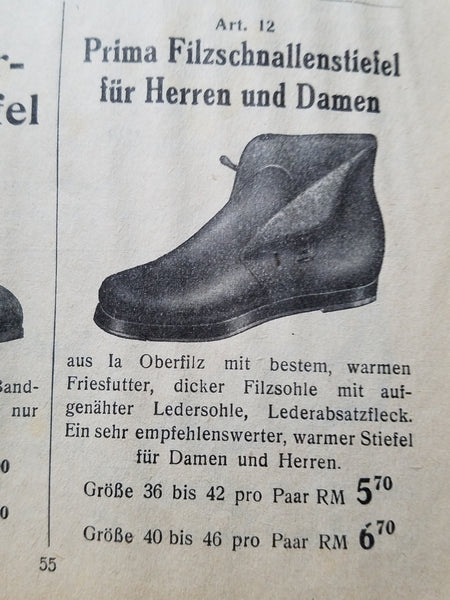 German Winter Shoes in Box