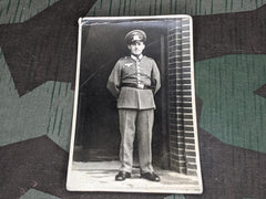 Original WWII German Enlisted Soldier Picture Post Card