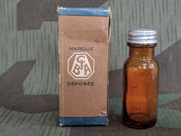 French Coramine Medicine Bottle in Box (Overdose Treatment)