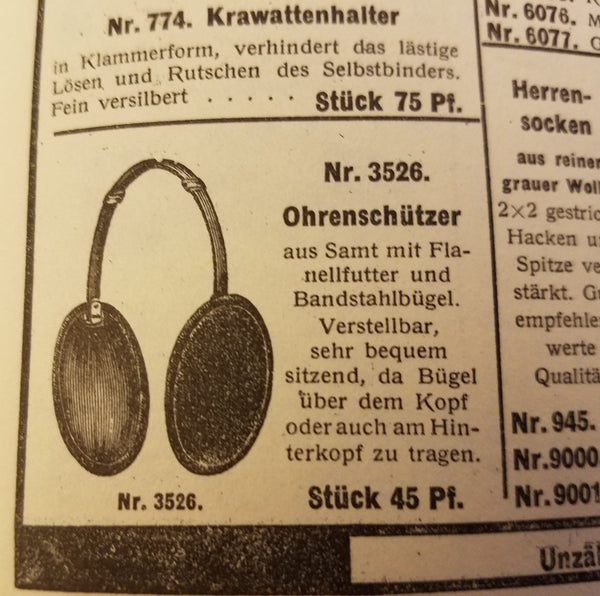Original WH Earmuffs