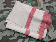WWII German Army Blanket - Three Red Stripe
