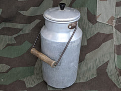 2L Milk Can w/ Wood Handle and Bakelite Knob
