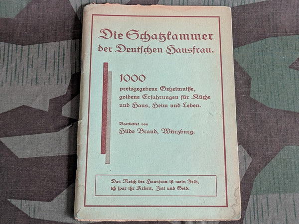 1000 Tips for the German Hausfrau Book