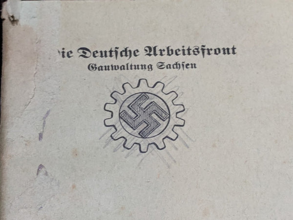 Arbeitsfront Song Book