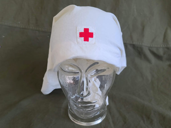 American Red Cross Head Cover (worn in WWI and WWII)